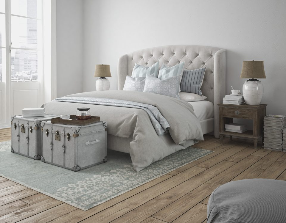 meuble de lit confortable et design